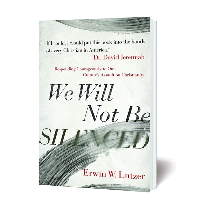 """the book """"We Will Not Be Silenced"""" by Erwin W. Lutzer"""